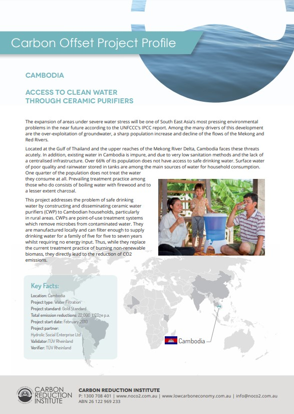 cambodia water purifier